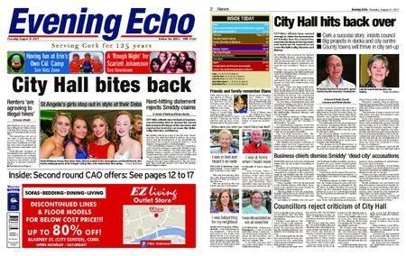Evening Echo – August 31, 2017