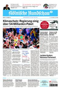 Kölnische Rundschau Wipperfürth/Lindlar – 21. September 2019