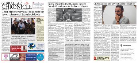 Gibraltar Chronicle – 12 May 2020