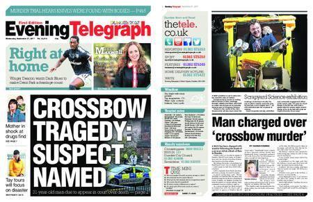 Evening Telegraph First Edition – September 27, 2017