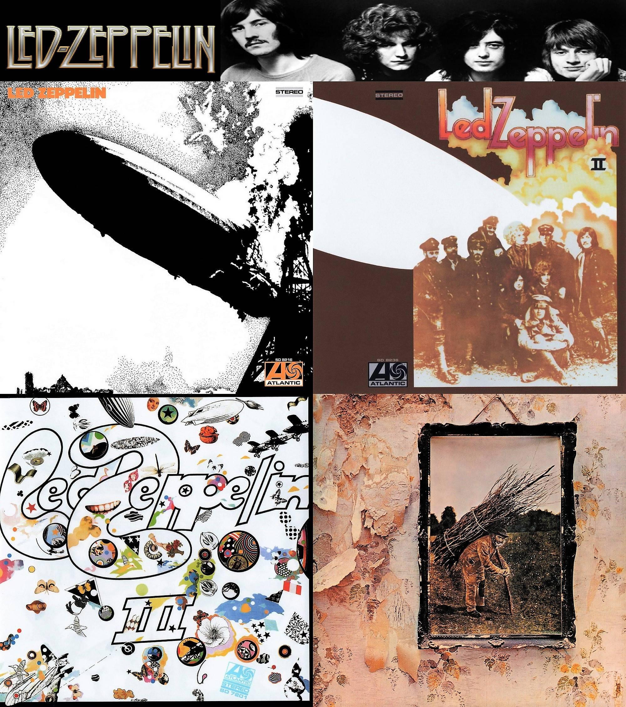 Led Zeppelin I Ii Iii Iv 2008 Dr Ebbetts Us
