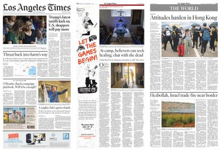Los Angeles Times – September 02, 2019