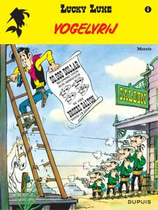 "Strip - ""Lucky Luke - 06 - Vogelvrij cbr"