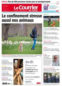 Le Courrier de l'Ouest Angers – 11 avril 2021