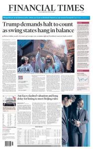 Financial Times Europe - November 6, 2020