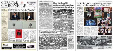 Gibraltar Chronicle – 13 May 2020