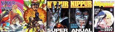 Nippur Magnum #9, #26, Super Anual #37, Todo Color 122