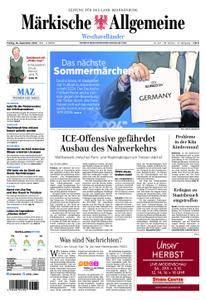 Märkische Allgemeine Westhavelländer - 28. September 2018