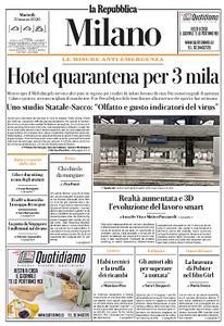 la Repubblica Milano - 31 Marzo 2020