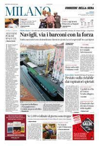 Corriere della Sera Milano - 4 Gennaio 2018
