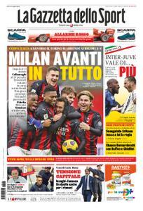 La Gazzetta dello Sport Roma – 13 gennaio 2021