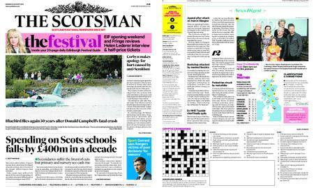 The Scotsman – August 06, 2018