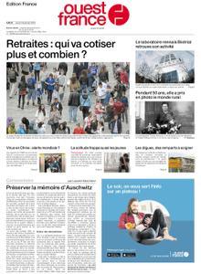 Ouest-France Édition France – 23 janvier 2020