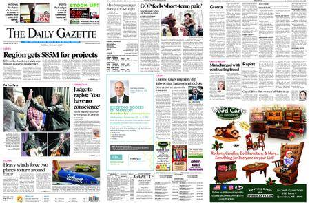 The Daily Gazette – December 14, 2017