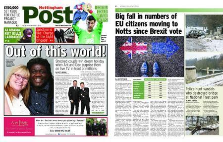 Nottingham Post – March 05, 2018