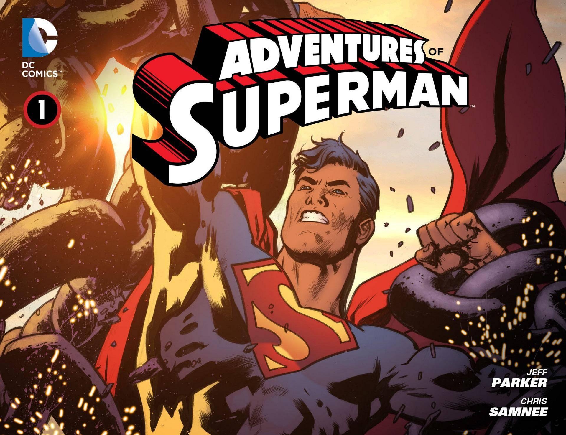 Adventures of Superman 001 2013 Digital