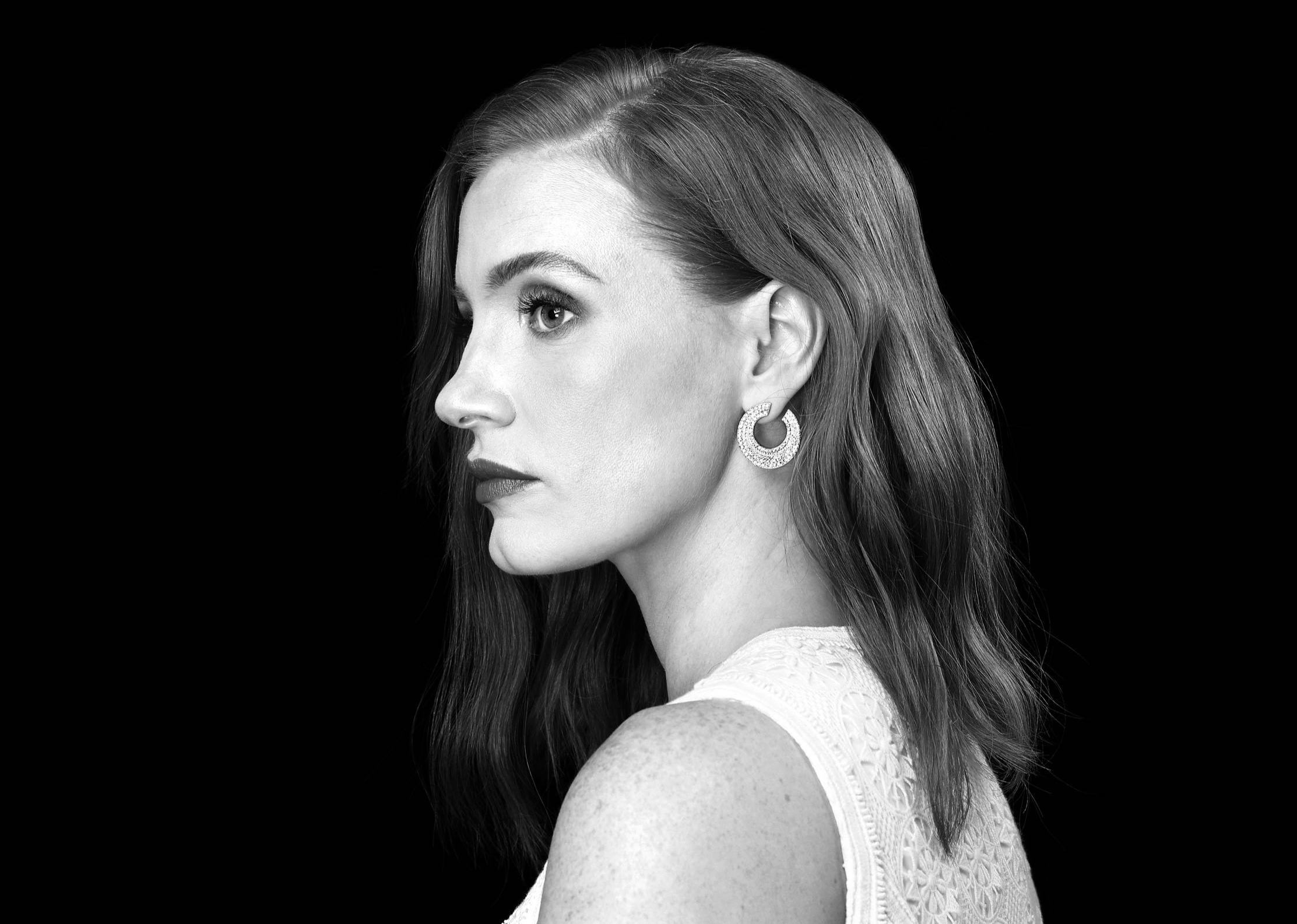 Jessica Chastain by Carolyn Cole for Los Angeles Times