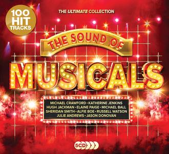 VA - The Sound Of Musicals The Ultimate Collection (5CD, 2019)