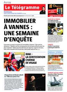 Le Télégramme Auray – 04 novembre 2019