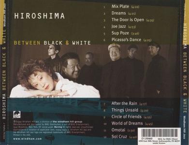 Hiroshima - Between Black & White (1999) {Windham Hill}