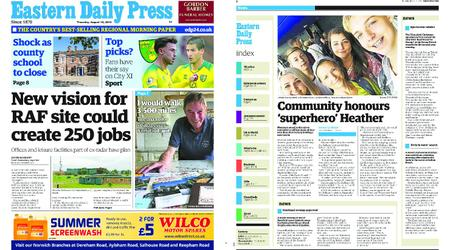 Eastern Daily Press – August 15, 2019