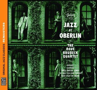 The Dave Brubeck Quartet - Jazz At Oberlin (1953) {OJC Remasters Complete Series rel 2010 - item 04of33}