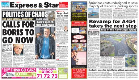Express and Star City Edition – September 25, 2019