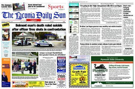 The Laconia Daily Sun – October 03, 2017