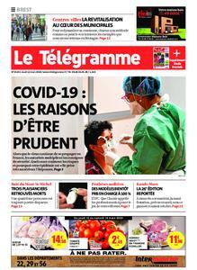 Le Télégramme Brest – 12 mars 2020