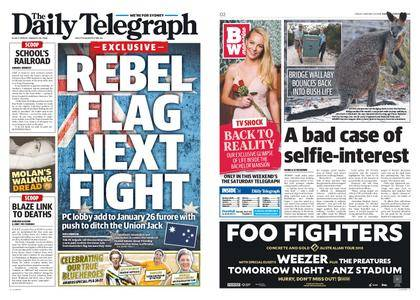 The Daily Telegraph (Sydney) – January 26, 2018