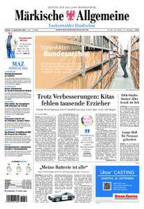 Märkische Allgemeine Luckenwalder Rundschau - 27. September 2019