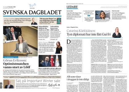 Svenska Dagbladet – 17 oktober 2019