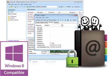Efficient Address Book 5.50 Build 540 Multilingual Portable