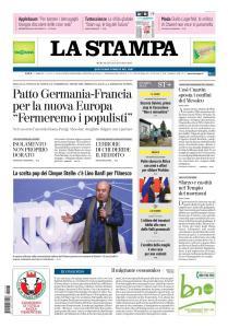 La Stampa Torino Provincia e Canavese - 23 Gennaio 2019