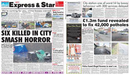 Express and Star City Edition – December 18, 2017