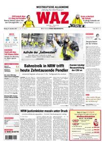 WAZ Westdeutsche Allgemeine Zeitung Oberhausen-Sterkrade - 10. Dezember 2018