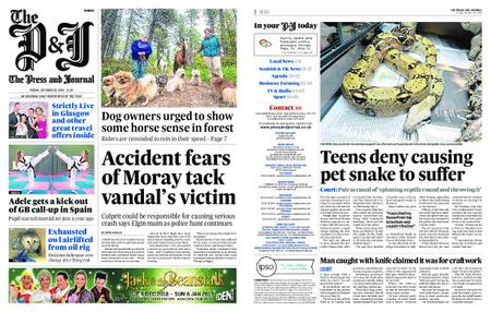 The Press and Journal Moray – October 26, 2018