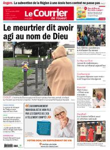 Le Courrier de l'Ouest Angers – 16 novembre 2020