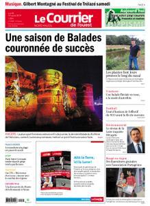 Le Courrier de l'Ouest Nord Anjou – 19 août 2019