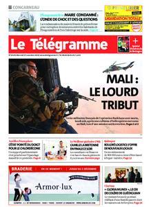 Le Télégramme Concarneau – 27 novembre 2019