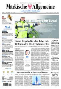 Märkische Allgemeine Luckenwalder Rundschau - 15. Februar 2019
