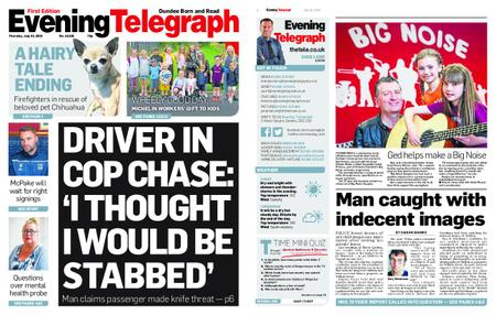 Evening Telegraph First Edition – July 25, 2019
