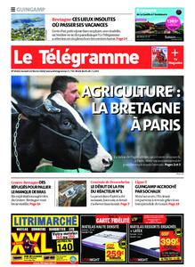 Le Télégramme Guingamp – 22 février 2020