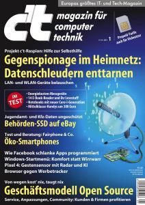 c't Magazin - 21 Dezember 2019