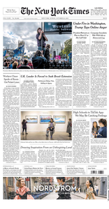 The New York Times – 20 October 2019