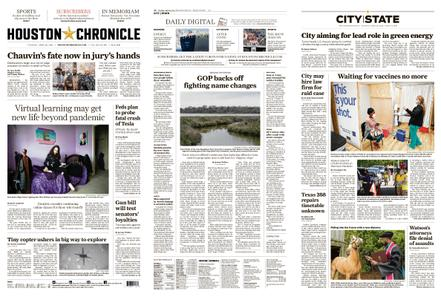 Houston Chronicle – April 20, 2021