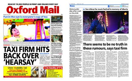 Oxford Mail – July 01, 2019