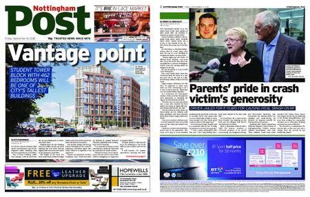 Nottingham Post – September 14, 2018