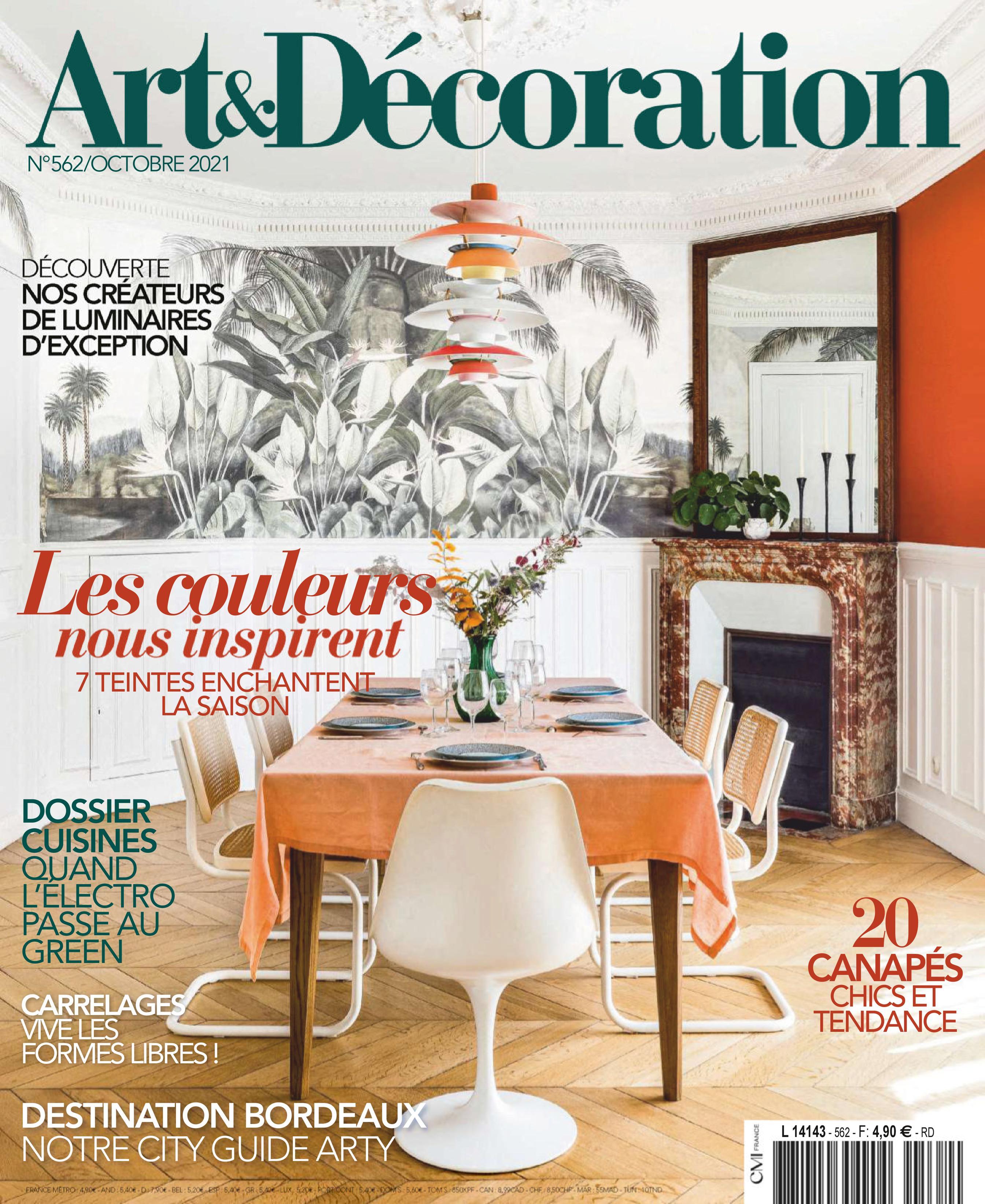 Art & Décoration - octobre 2021