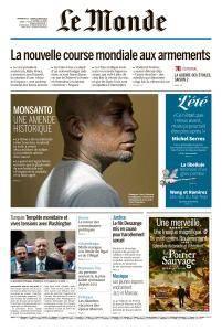 Le Monde du Dimanche 12 et Lundi 13 Août 2018